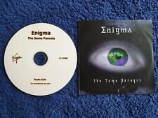 Enigma Acetate Promo CD The Same Parents - michael cretu