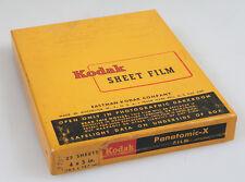 4X5 KODAK PANATOMIC X FILM, NOT FULL BOX, RARE