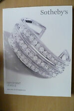 SOTHEBY'S CATALOGUES 2013- Important Jewels, New York (300 pages)
