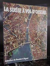 La Suisse à vol d'oiseau Fritz Bachmann 1976 ARTBOOK by PN