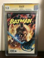 2003 Batman #616 Signed by Jim Lee 9.8 CGC