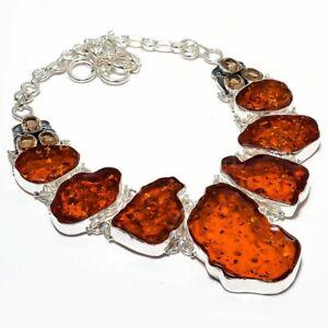 Amber 16 carats natural stone pendant Baltic  BW93