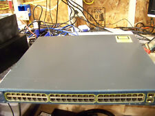 Cisco Catalyst 3560V2 WS-C3560V2-48PS-S 48 Port PoE Network Switch