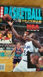 1995 NBA Basketball Calendar