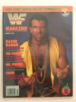 WWF Magazine 1993 March Razor Ramon Scott Hall Outsiders WWE WCW nWo Wrestling