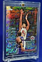 VINCE CARTER TOPPS FRESH FOUNDATIONS RAINBOW SPARKLE REFRACTOR SP RARE