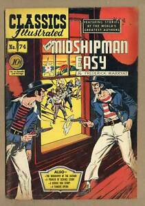 Classics Illustrated 074 Mr. Midshipman Easy #1 GD/VG 3.0 1950