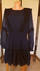 C.M. Schönes Minikleid/Kleid von pepe Jeans, marine, Gr. XL (°205)