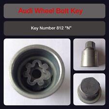 """Genuine Audi Locking Wheel Bolt / Nut Key 812 """"N"""" 17 Hex"""