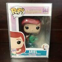 """Funko Pop Disney The Little Mermaid : Ariel with Tail #563 Vinyl w/Case """"MINT"""""""