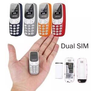 Mini teléfono móvil libre - El más pequeño del mundo - Dual Sim 2G - Bluetooth