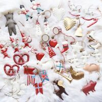 Christmas Tree Hanging Santa Bells Decor Xmas Party Wedding Ornament