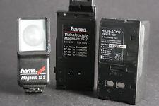 hama Magnum 15S Videoleuchte mit Accu-Pack 6V/2400mAh; gebr.+Überweisung bitte!
