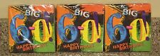 60th Birthday Party Beverage Napkins - Turning The Big 60  - 3 New Packs