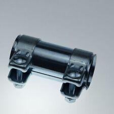 Auspuff Rohrverbinder ID 56mm verzinkt Muffe Verbinder 2x Auspuffschelle 60,5