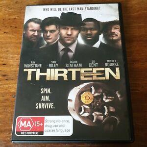 Thirteen Jason Statham DVD R4 Like New! FREE POST