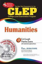 CLEP HUMANITIES W/CD-ROM (CLEP TEST PREPARATION) **BRAND NEW** EB4
