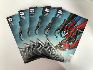 THOR #7 2020 COVER A - NEW THOR- Lot Of 5 🚨🚨🚨
