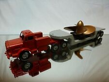 DINKY TOYS 986 THORNYCROFT MIGHTY ANTAR + LOW LOADER + PROPELLER - VERY GOOD