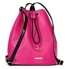 Juicy Couture Hot Pink and Black BACKPACK / TRAVEL BAG NEW With Tag