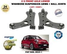 Per FIAT 500 L 2013 - > 2X ANTERIORE SINISTRA + Braccio Destro Sospensione Braccio Oscillante + Giunto Sferico