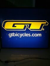 GT Bicycle Sign Vintage Advertising man cave or garage used condition