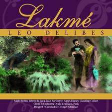 CD Lakme von Leo Delibes   2CDs  Komplettaufnahme, Opera Comique Paris