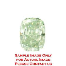 Cushion Green Loose Diamonds