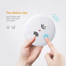 Smoke Alarm CO Carbon Monoxide Detector Poisoning Gas Warning Sensor Monitor 2x