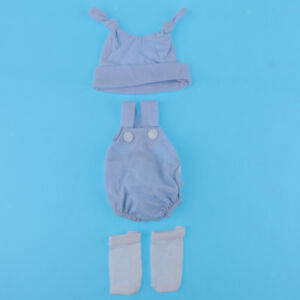 """Doll Clothes for 10""""-11"""" Reborn Baby Girl/Boy Dolls Casual Outfit Accessory"""