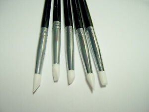 Set of 5 Clay Sculpting Tools Flexible Small Nibs for Clay, Art Dolls & Painting