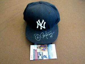 JOE PEPITONE # 25 1962-69 NY YANKEES SIGNED AUTO NEW ERA 5950 FIELD CAP HAT JSA