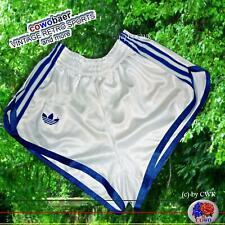 neu VINTAGE adidas SPRINTER Sporthose D4 (S) Nylon Racer Shorts Shiny Glanz Hose