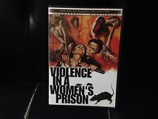 Violence in A Women's Prison (DVD, 2002) Mint Disc/Insert!•No Scratches!•USA•OOP