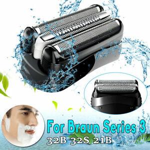 For Braun 32B Series 3 320 330 340 380 390 Shaver Foil Cutter Head Cassette