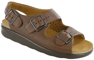 SAS Women's Shoes Relaxed Sandal Amber 8 Wide FREE SHIPPING New In Box
