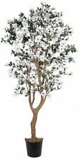 Nearly Natural 5019 Dogwood Silk Decorative Tree- 5-Feet- White NEW