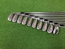 RARE Wilson Golf TOP-NOTCH GOOSE-NECK Refinished Iron Set 2-SW Right RH 10 Clubs