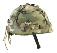 Kids US Style Replica Helmet soldier MTP Camo Playing Outdoors Army Hat