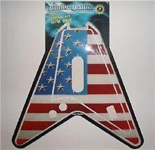 GUITAR HERO 1 & 2 SKIN AMERICAN FLAG PS2 Playstation 2
