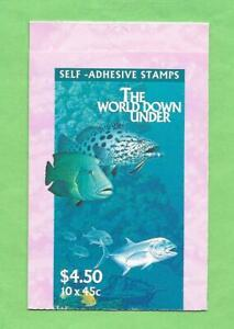 """1995 AUSTRALIA """" THE WORLD DOWN UNDER """" ~ BOOKLET ~ MINT UN HINGED ~"""