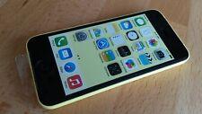 Smartphone   Apple iPhone 5c   - 32GB  -    ohne Simlock     -     FARBE: GELB