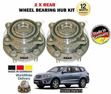 FOR HYUNDAI SANTA FE 2.2DT CRDi 2.7 2005--  NEW 2x REAR WHEEL BEARING HUB KIT