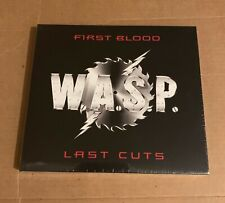 "W.A.S.P. ""First Blood Last Cuts"" CD 2019 sealed exclusive track + 5 remixes WASP"