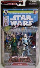 """GOVERNOR TARKIN & STORMTROOPER Star Wars Comic Packs #03 3 3/4"""" Figures 2007"""