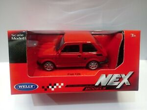 FIAT 126  SCALA  1:43 Nuovo  Welly  NEX MODELS