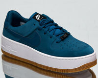 Nike Air Force 1 Sage Low Women's Blue Force Casual Lifestyle Sneakers Shoes