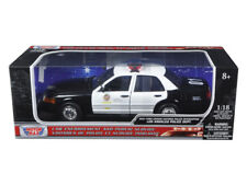 2001 Ford Crown Victoria Los Angeles Police Department LAPD Car 1/18 Diecast ...