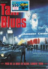 CARTE MAXIMUM - FILM FRANCE   - TAXI BLUES - 1996 .