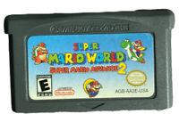 Super Mario World: Super Mario Advance 2 (Game Boy Advance, 2002) Loose w/o Box